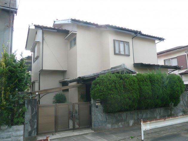 松戸市 I様邸 外壁塗装 モルタル壁 ウレタン塗料