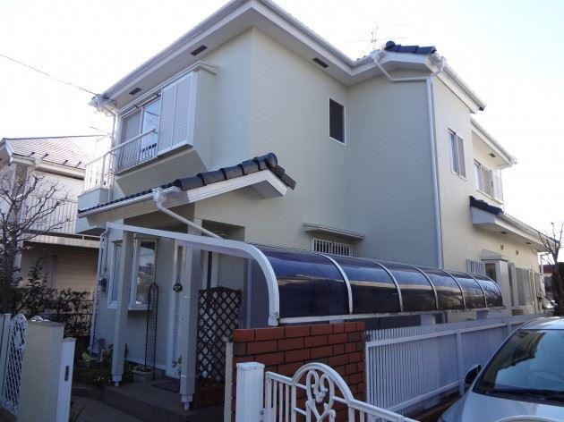 我孫子市 N様邸 外壁・屋根塗装 シリコン塗料