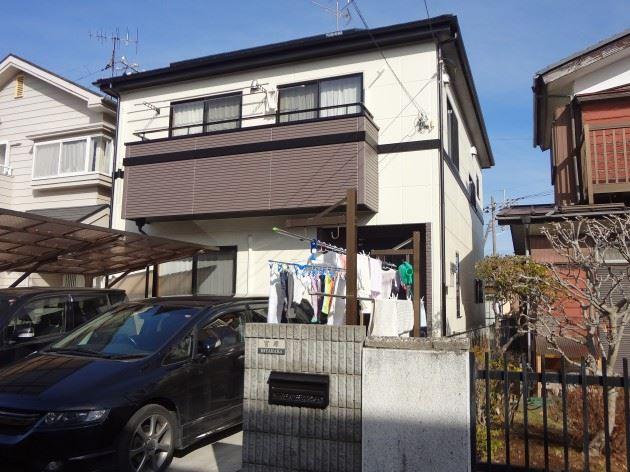 流山市 M様邸 外壁・屋根塗装 シリコン塗料