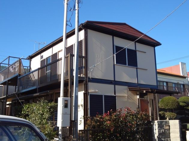 野田市 K様邸 外壁・屋根塗装 ウレタン塗料