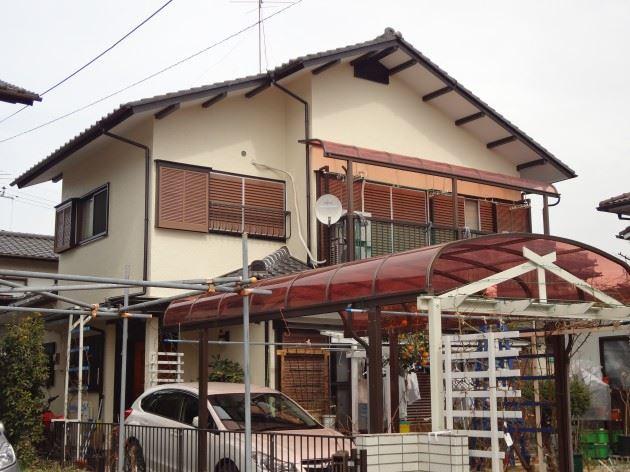 野田市 S様邸 外壁塗装 シリコン塗料