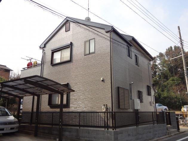 流山市 H様邸 外壁・屋根塗装 クリヤー塗料