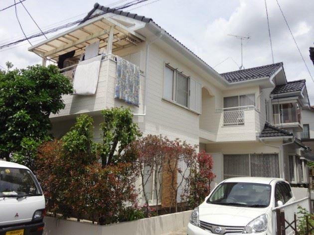 流山市 S様邸 外壁・屋根塗装 シリコン塗料
