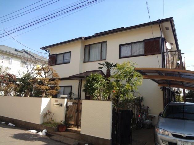 流山市 H様邸 外壁・屋根塗装 シリコン塗料