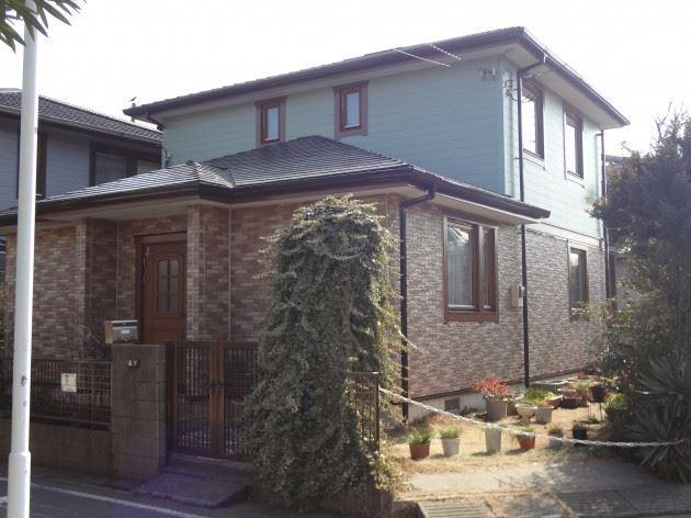 流山市 M様邸 外壁・屋根塗装 シリコン塗料+クリヤー塗料