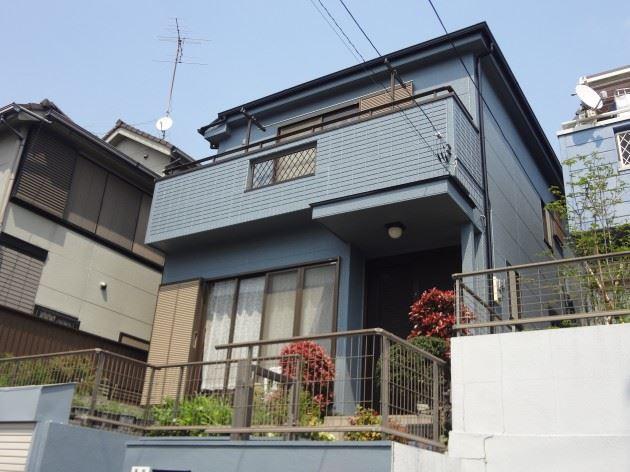 松戸市 F様邸 外壁・屋根塗装 シリコン塗料