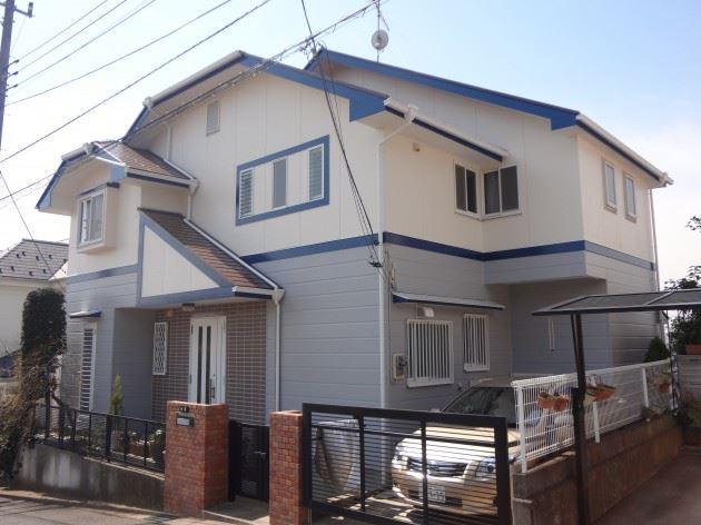 柏市 S様邸 外壁・屋根塗装 シリコン塗料