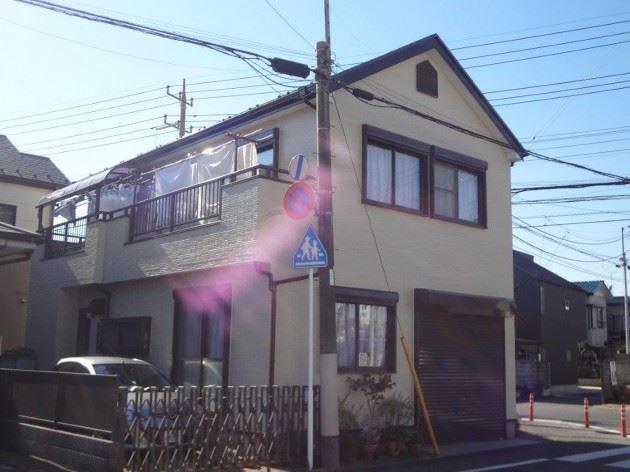 柏市 O様邸 外壁・屋根塗装 シリコン塗料
