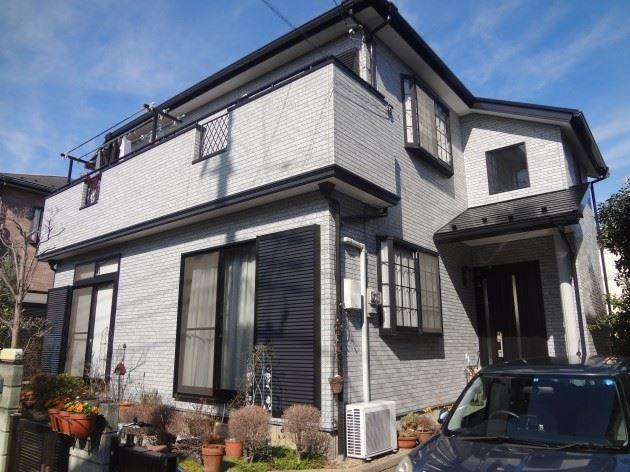 柏市 N様邸 外壁・屋根塗装 コスモマイルドシリコンⅡ弾性