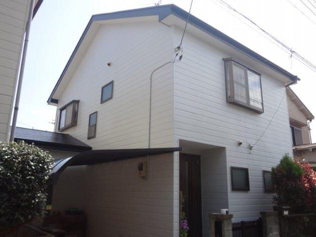 流山市 S様邸 外壁・屋根塗装 コスモマイルドシリコンⅡ弾性