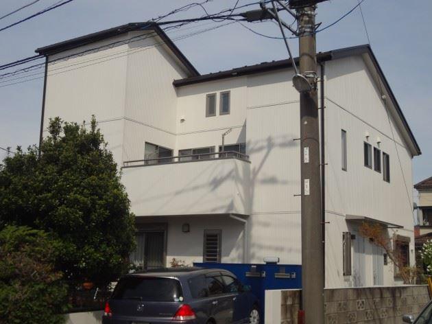 流山市 S様邸 外壁塗装工事 コスモマイルドシリコンⅡ弾性