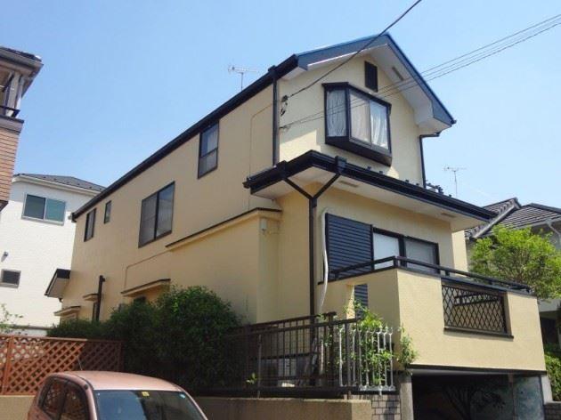 流山市 U様邸 外壁・屋根塗装・FRP防水工事