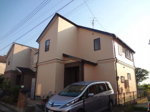 春日部市 K様邸 外壁・屋根塗装工事 ナノコンポジットW防藻+