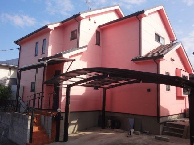 柏市 T様邸 外壁・屋根塗装工事 FRP防水工事