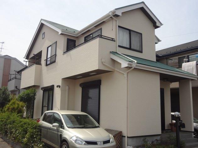 松戸市 Y様邸外壁屋根 ガイナ塗装工事 FRP防水工事