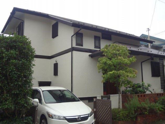 柏市 N様邸 外壁・屋根塗装工事