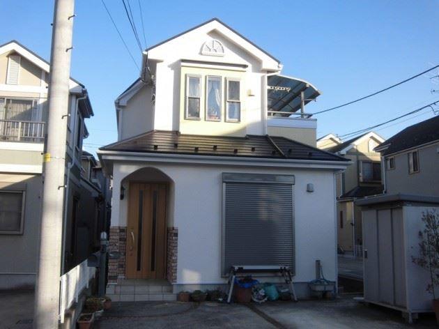 柏市 T様邸 外壁・屋根塗装工事 ナノコンポジット防藻+