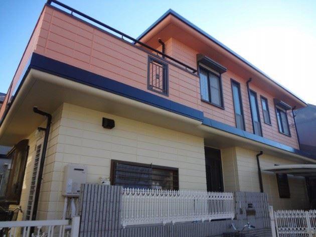 流山市 O様邸 外壁・陸屋根塗装工事