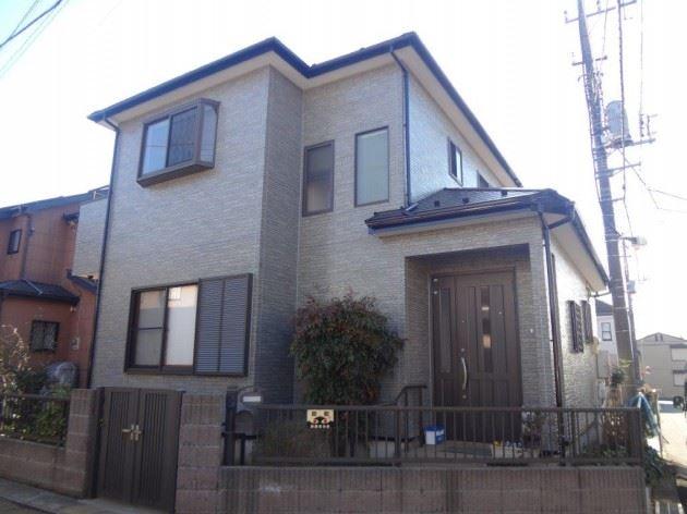 流山市 H様邸 外壁・屋根塗装工事・FRP防水工事
