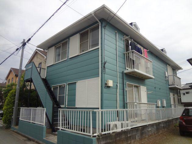 流山市 MSTアパート 外壁・屋根塗装工事
