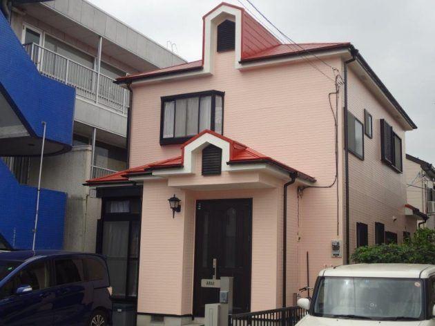越谷市 A様邸 外壁・屋根塗装工事