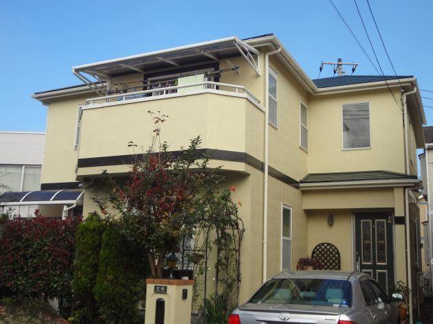 流山市 T様邸外壁・屋根塗装工事