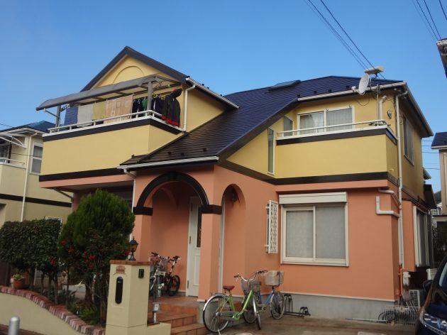 流山市 H様邸外壁・屋根塗装工事