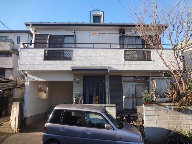 鎌ヶ谷市 K様邸 外壁・屋根塗装 ベランダ防水工事