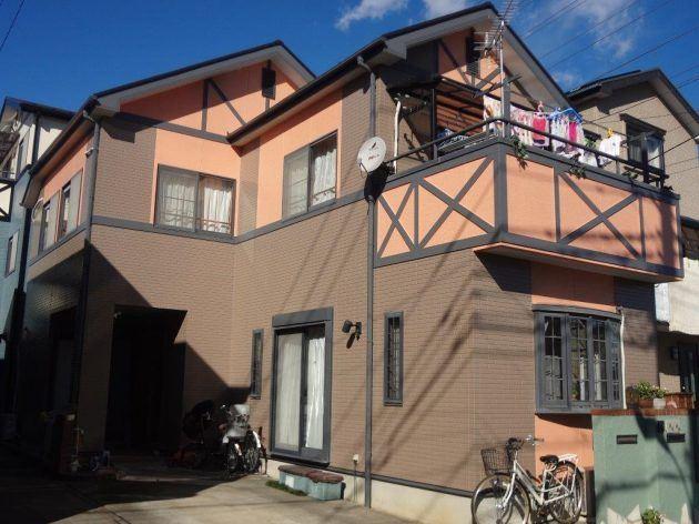 八潮市 M様邸 外壁・屋根塗装工事