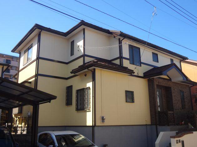 松戸市 T様邸 外壁塗装・屋根カバー工法工事