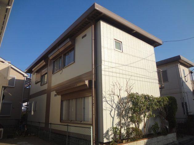 流山市 K様邸 外壁屋根塗装・玄関ドアリフォーム工事
