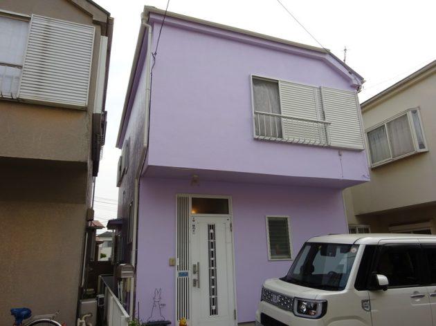 鎌ヶ谷市 H様邸 外壁屋根塗装工事
