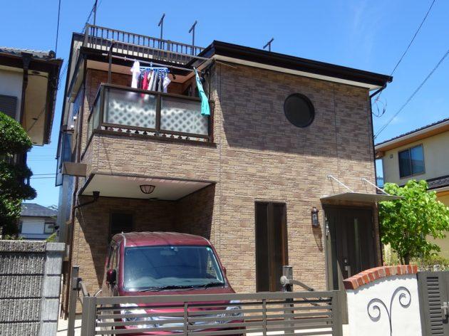 松戸市 S様邸 外壁塗装・FRP防水工事