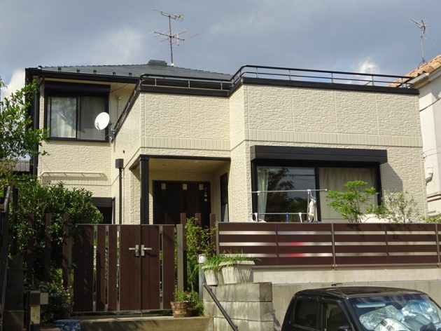 松戸市 I様邸 外壁屋根塗装工事
