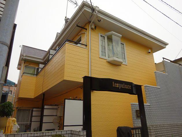 北区 アパート 外壁屋根塗装・その他改修工事