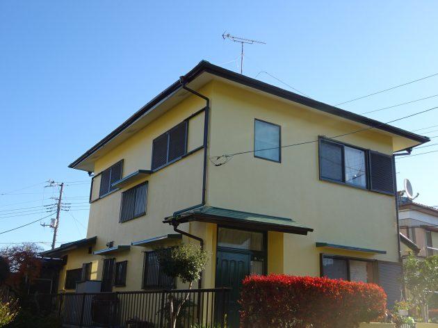 野田市 F様邸 外壁屋根塗装工事
