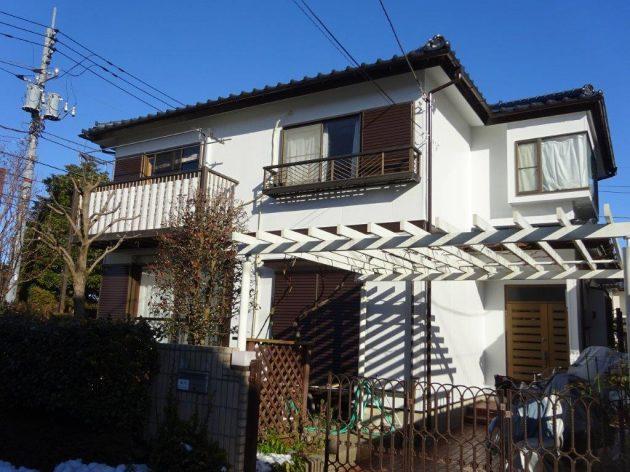 柏市 S様邸 外壁屋根塗装・屋根漆喰補修工事