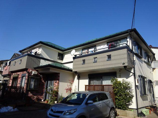 流山市 N様邸 外壁屋根塗装工事
