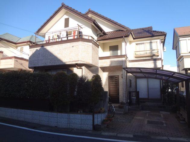 鎌ヶ谷市 H様邸 外壁屋根塗装・ベランダ防水工事