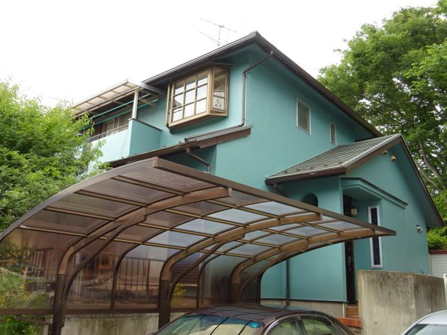 流山市 A様邸 外壁塗装工事