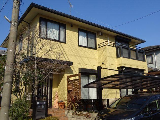 流山市 U様邸 外壁屋根塗装工事