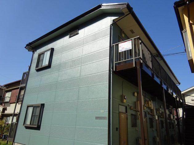 葛飾区 アパート2棟 外壁屋根塗装工事