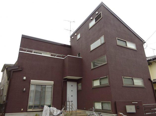 柏市 N様邸 外壁屋根塗装工事