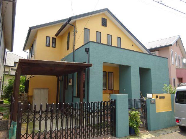 流山市 H様邸 外壁屋根塗装工事