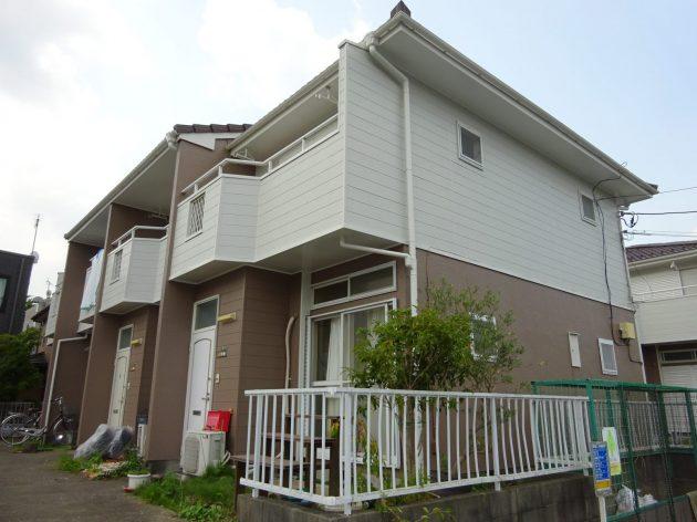 流山市 アパート4棟 外壁屋根塗装工事