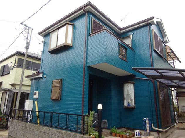 流山市 K様邸 外壁屋根塗装工事