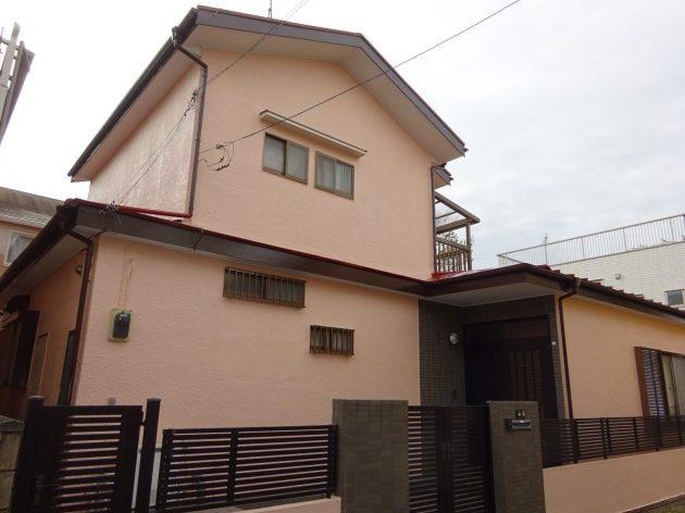 松戸市 N様邸 外壁屋根塗装・一部破風板板金巻き工事