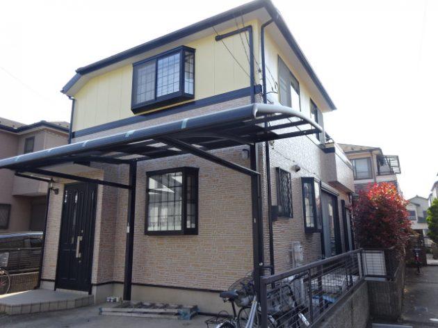 松戸市 I様邸 外壁 屋根 塗装工事