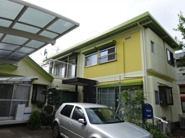 流山市 Y様邸 外壁 屋根 塗装工事