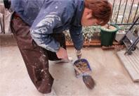 足場の撤去・清掃